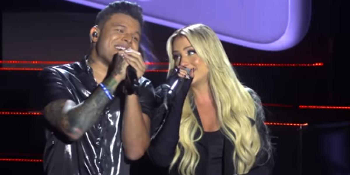 Gabi Martins e Tierry em clipe da música ''Prints' (Foto: Reprodução/YouTube)
