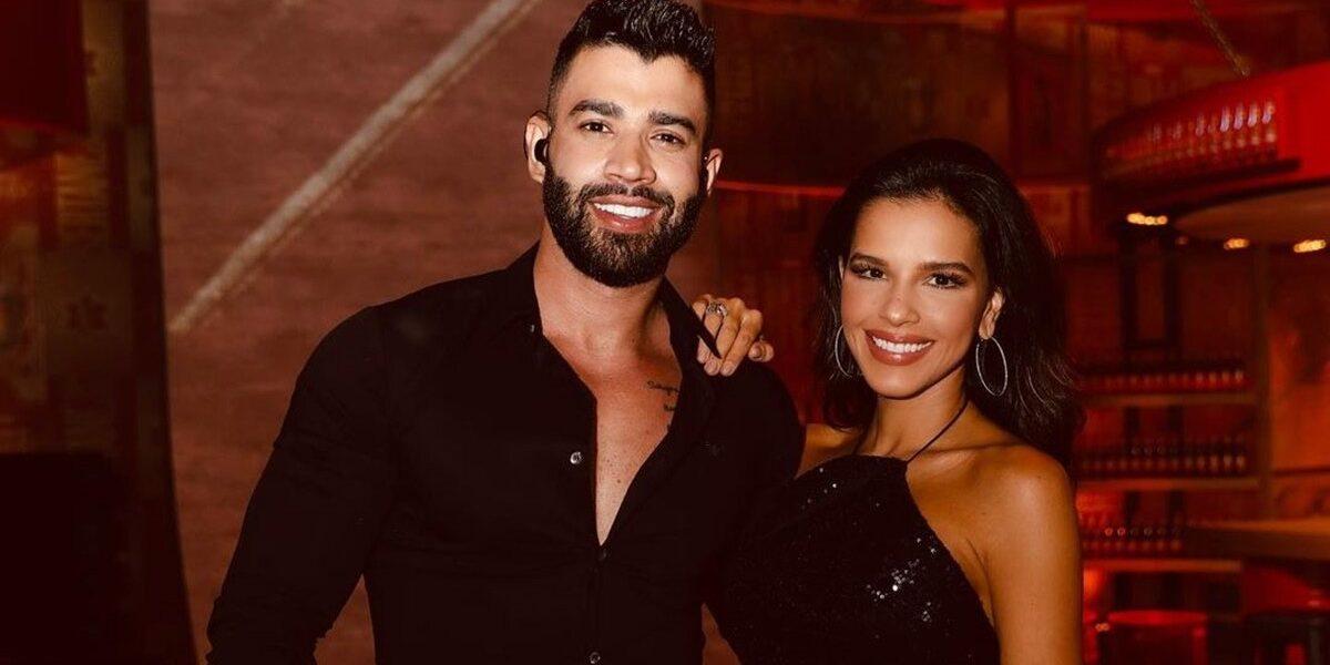 Gusttavo Lima e Mariana Rios podem ser o novo casal do pedaço (Foto: Reprodução)