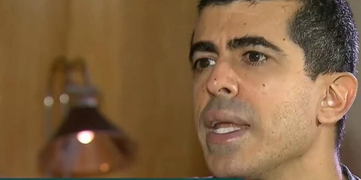 Marcius Melhem expôs Dani Calabresa em entrevista na Record (Foto: Reprodução)