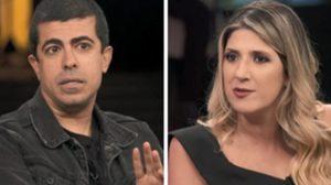 Marcius Melhem e Dani Calabresa se envolveram em polêmica nos bastidores da Globo (Foto: Montagem/TV Foco)