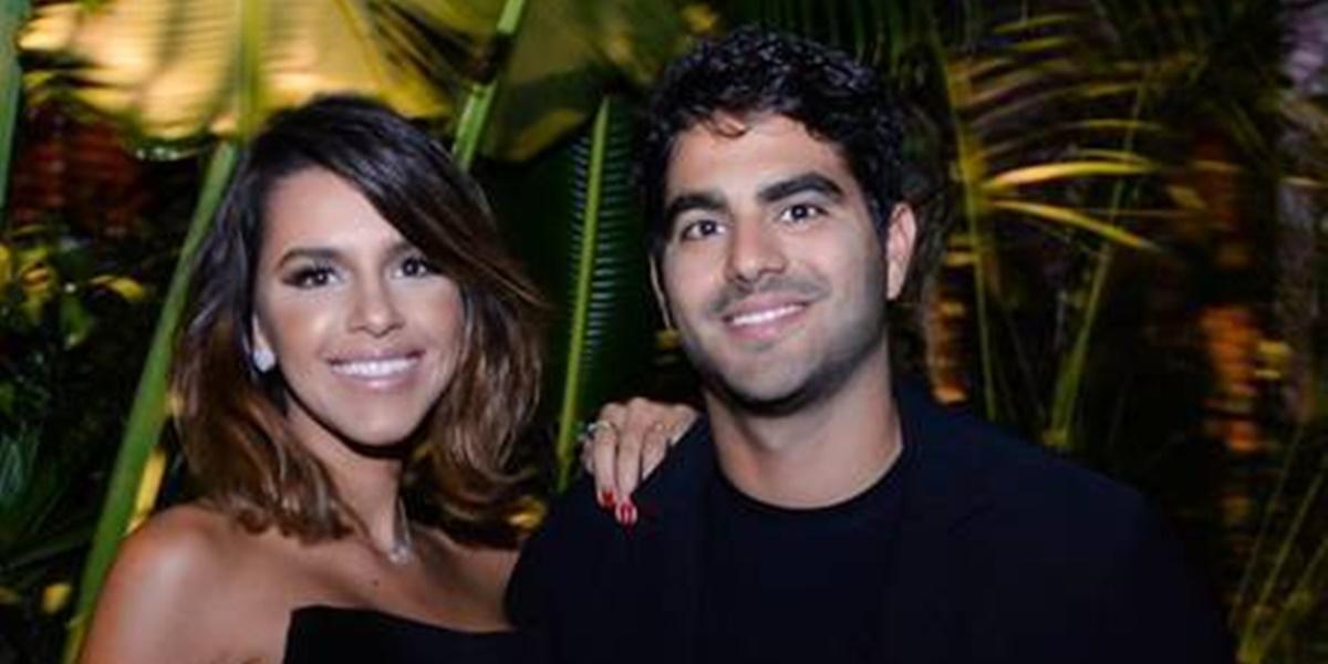 Mariana Rios ao lado de Patrick Bulus (Foto: Reprodução)