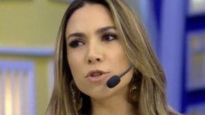 """Patrícia Abravanel comanda o """"Pontinhos em Casa"""" (Foto: Repridução/SBT)"""