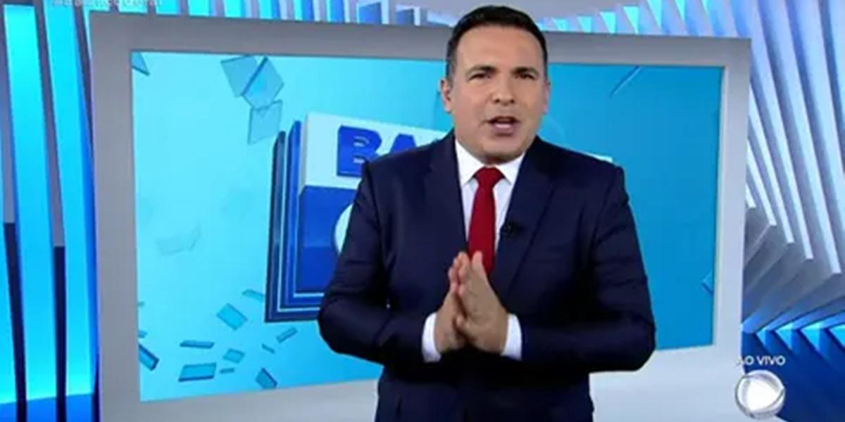 Record: Reinaldo Gottino está insatisfeito com mudanças no Balanço Geral (Foto: Reprodução)