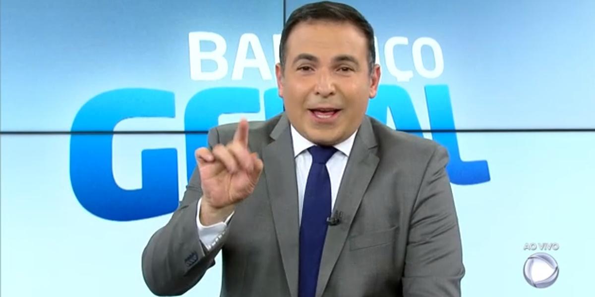 Reinaldo Gottino preocupou fãs após sumiço do Balanço Geral (Foto: Reprodução)