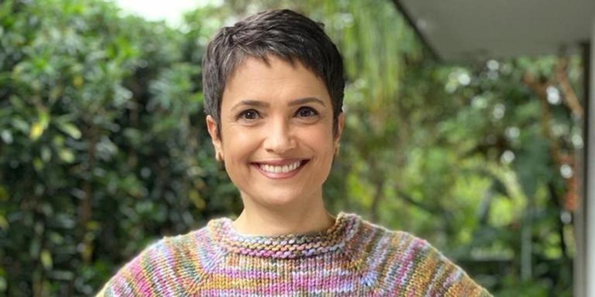 Sandra Annenberg está negociando com CNN e poderá deixar Globo em 2021 (Foto: Reprodução)