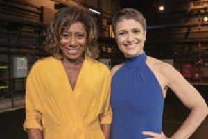 Sandra Annenberg e Glória Maria podem deixar Globo (Foto: Reprodução/César Alves e Victor Pollak/TV Globo)