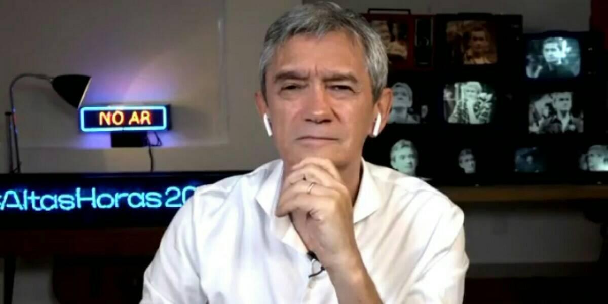 Serginho Groisman é hipnotizado por Pyong Lee no Altas Horas (Foto: Reprodução)