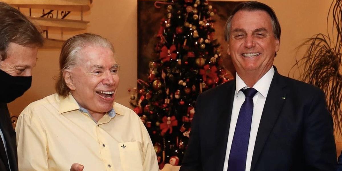 Silvio Santos, Jair Bolsonaro