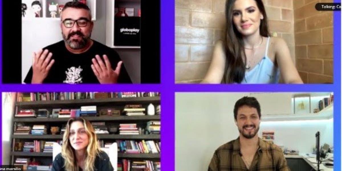 Amora Mautner e Camila Queiroz falam sobre verdades Secretas 2 (Foto: Reprodução/CCXP)