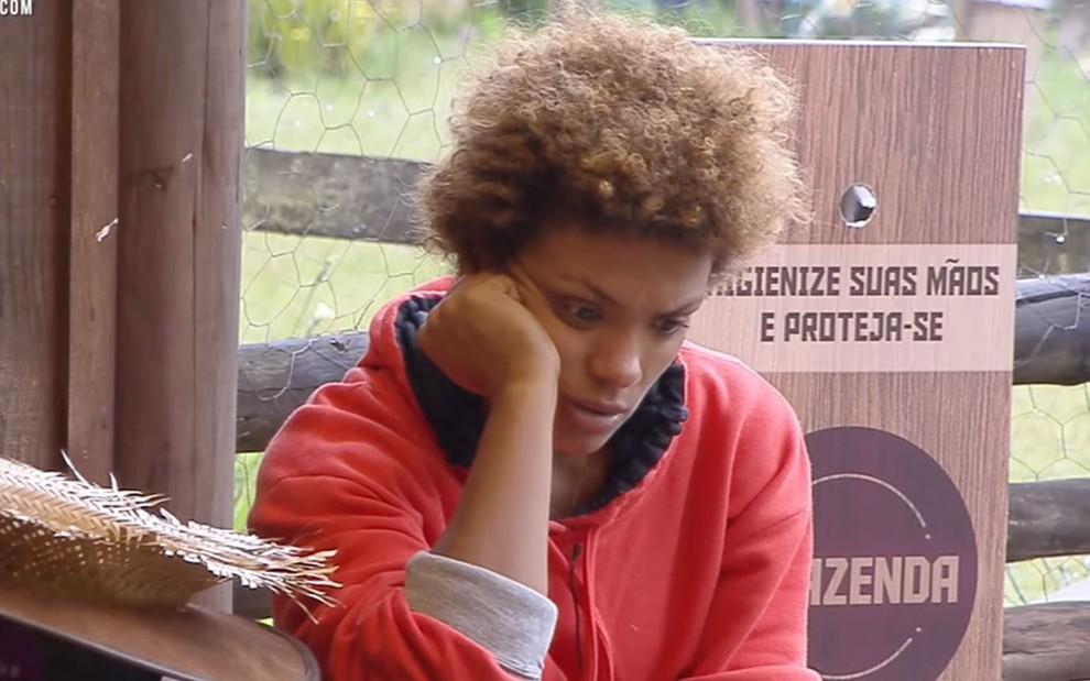 Lidi Lisboa em A Fazenda 12 (Foto: Divulgação)