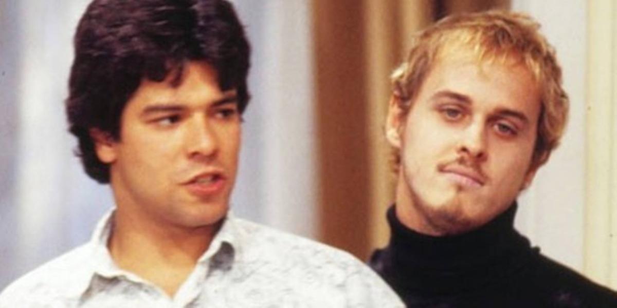 Raul e Alexandre em cena de A Viagem (Foto: Reprodução)