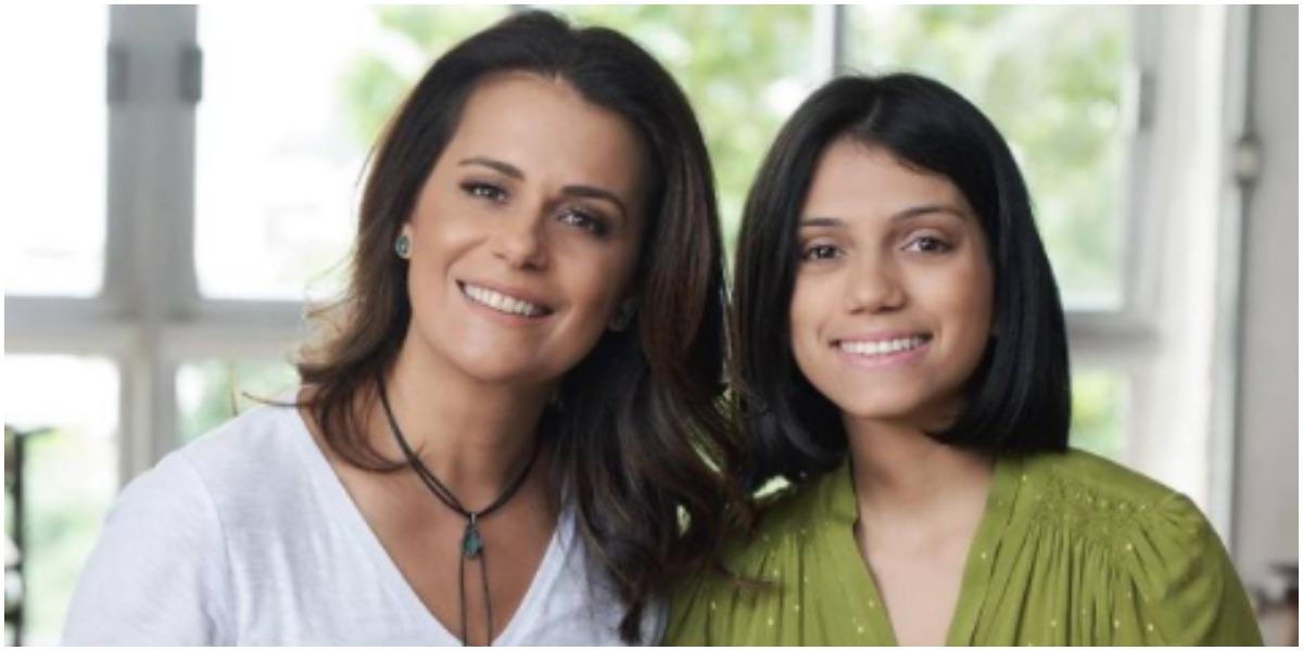 Adriana Araújo expõe que pai biológico quis trocar filha na maternidade (Foto: Reprodução)