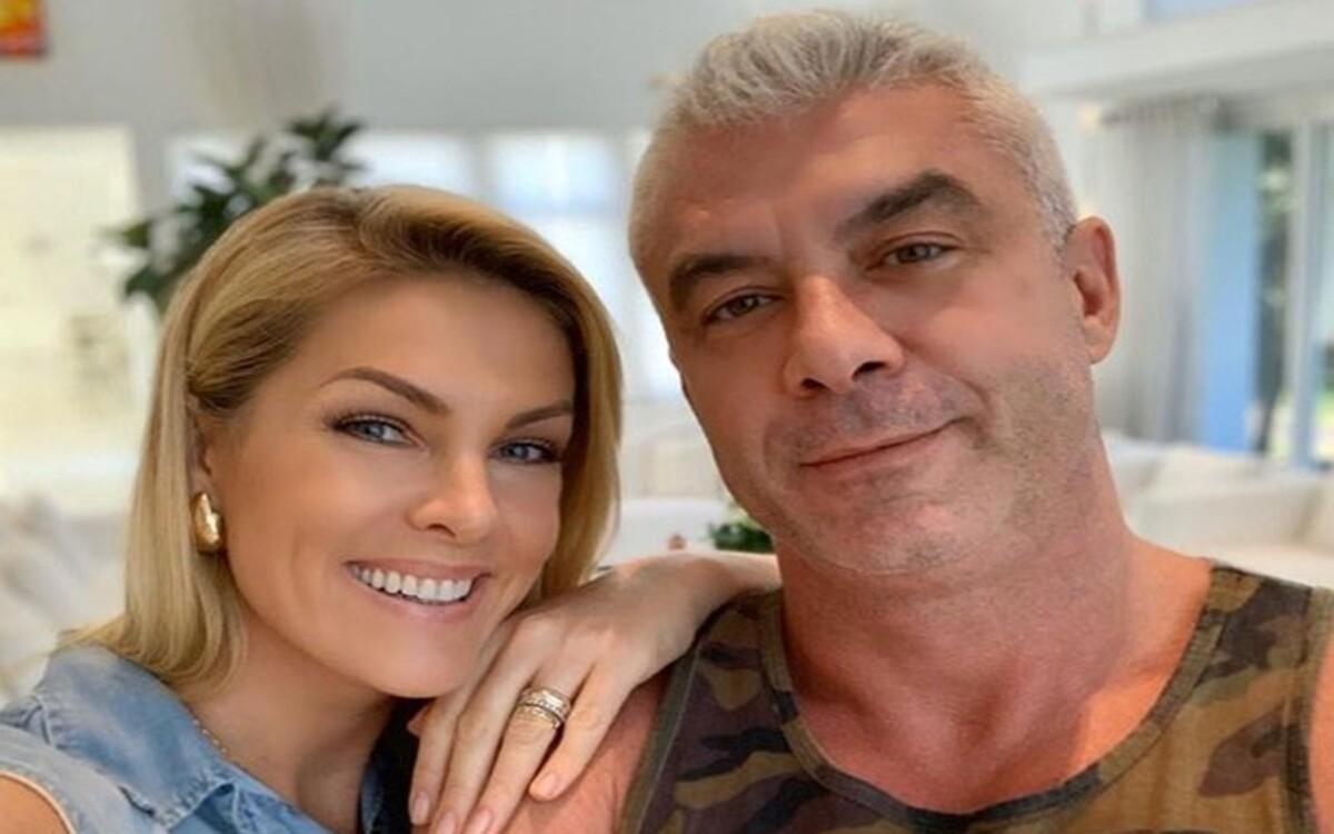 Ana Hickmann e seu marido, o empresário Alexandre Corrêa (Foto: Divulgação)
