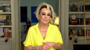 """Ana Maria Braga no """"Mais Você"""" de hoje (Foto: Reprodução/TV Globo)"""