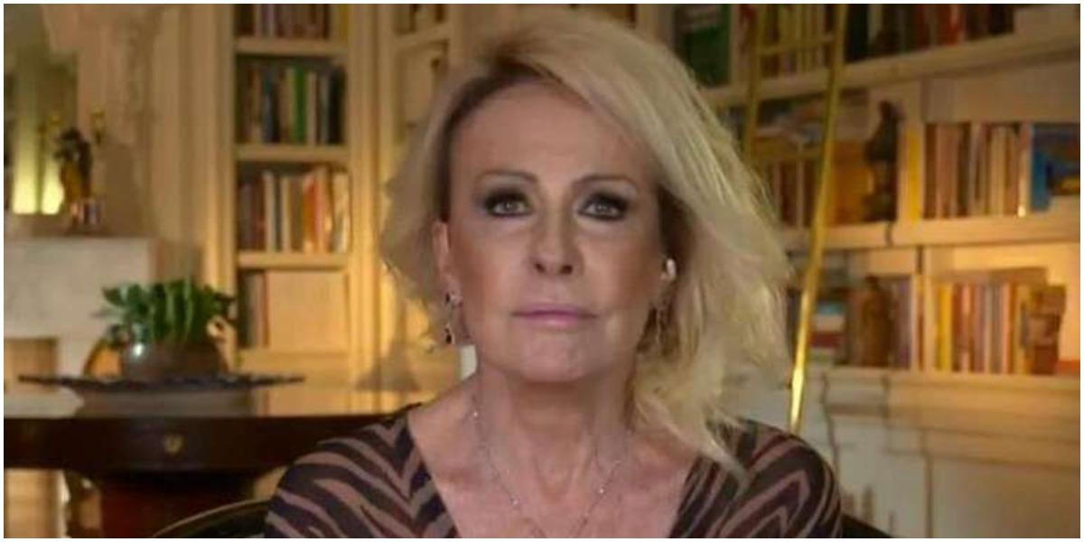 A apresentadora Ana Maria Braga tem cenário em sua própria residência (Foto: Reprodução/TV Globo)