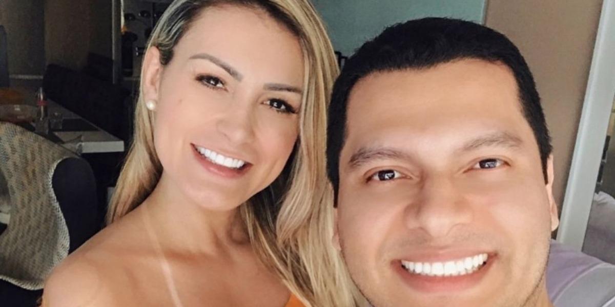 Andressa Urach se casa com Thiago Lopes (Foto: Reprodução)