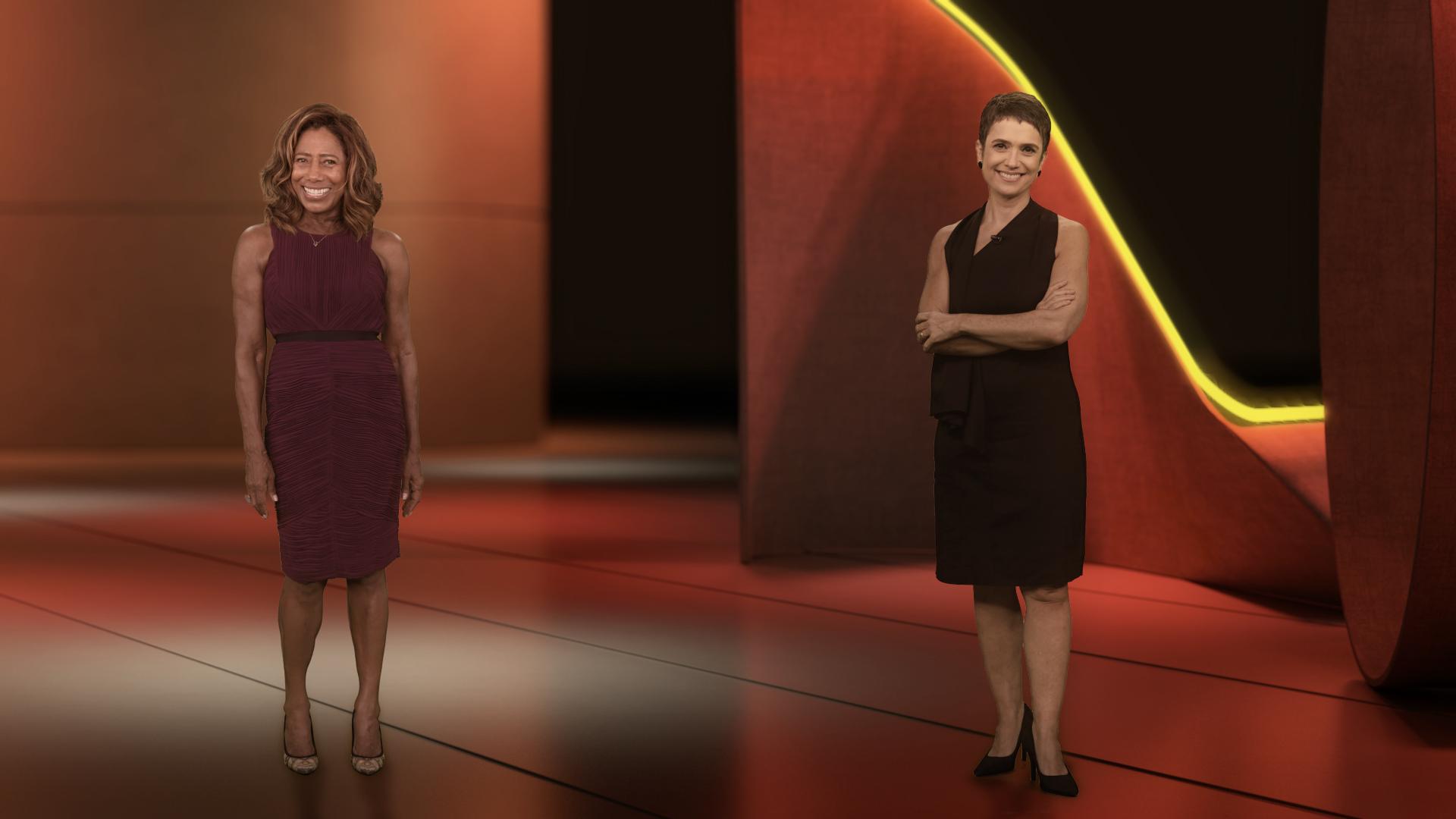 Glória Maria e Sandra Annenberg na Retrospectiva 2020 (Foto: Divulgação/TV Globo) audiência