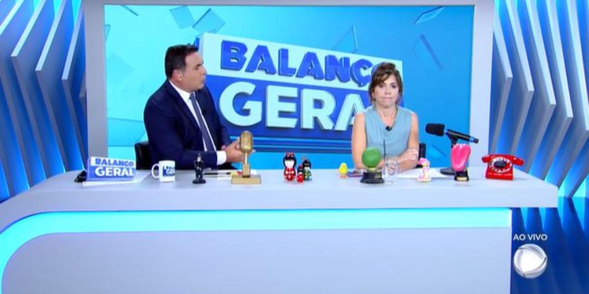 Balanço Geral SP de hoje (Foto: Reprodução/Record)
