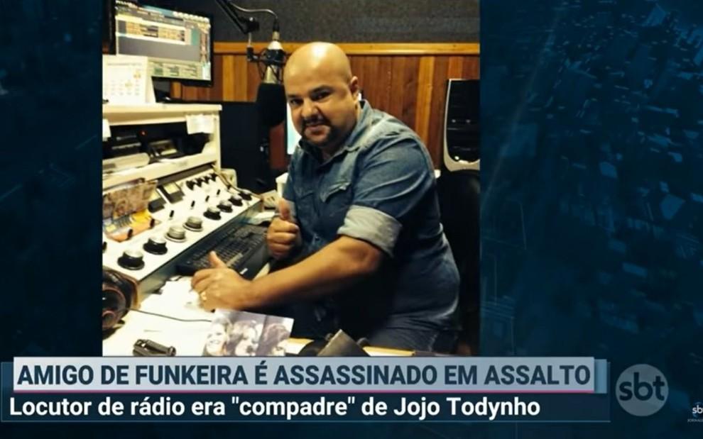 Bruno Aurélio (Foto: Reprodução / SBT)