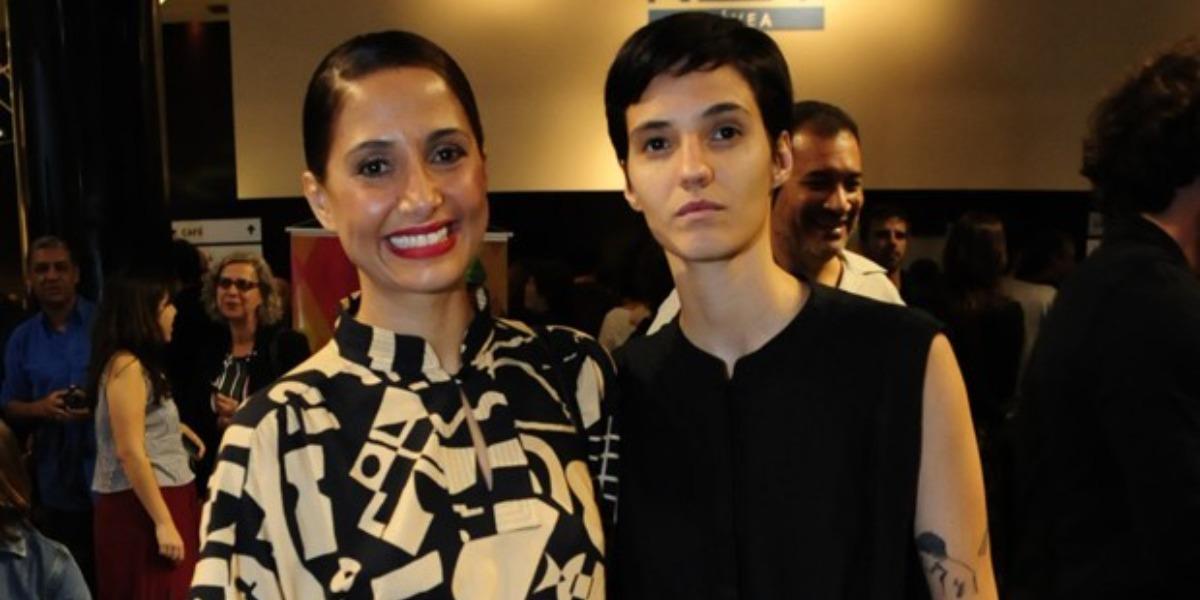 Camila Pitanga e Beatriz Coelho (Foto: Reprodução)