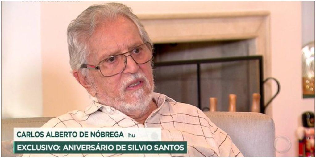 O humorista Carlos Alberto de Nóbrega, do SBT - Foto: Reprodução