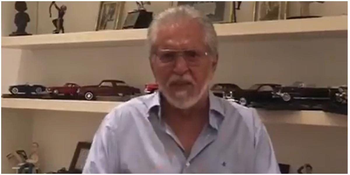 Carlos Alberto de Nóbrega apareceu em especial do SBT (Foto: Reprodução)