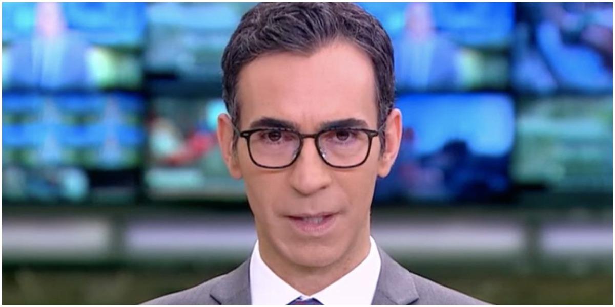 O jornalista Cesar Tralli, um dos maiores nomes da Globo - Foto: Reprodução