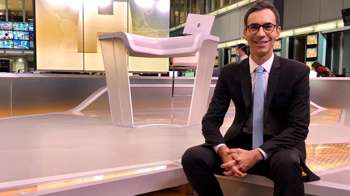 Cesar Tralli tem mandado bem na audiência do Jornal Hoje, da Globo (Foto: Reprodução/Instagram)