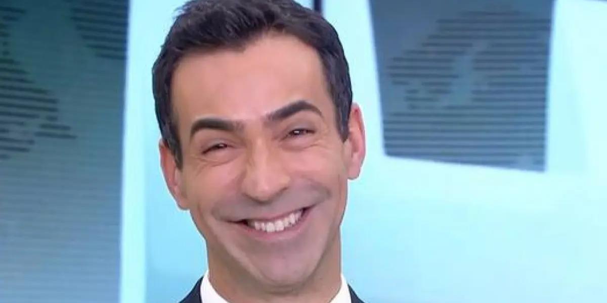 "César Tralli no ""Jornal Hoje"" (Foto: Reprodução/TV Globo)"