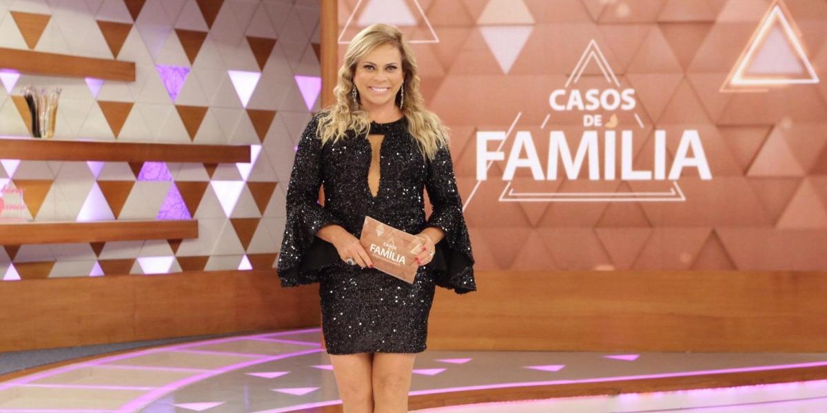 """Christina Rocha no """"Casos de Família"""" (Foto: Divulgação/SBT) audiência"""