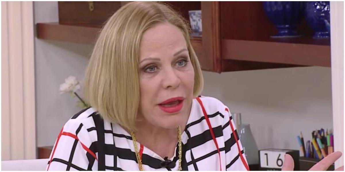 A apresentadora Claudete Troiano - Foto: Reprodução