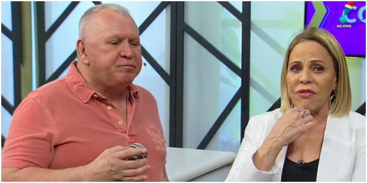 Claudete Troiano mostra ciúmes de Sonia Abrão na RedeTV! (Foto: Reprodução)
