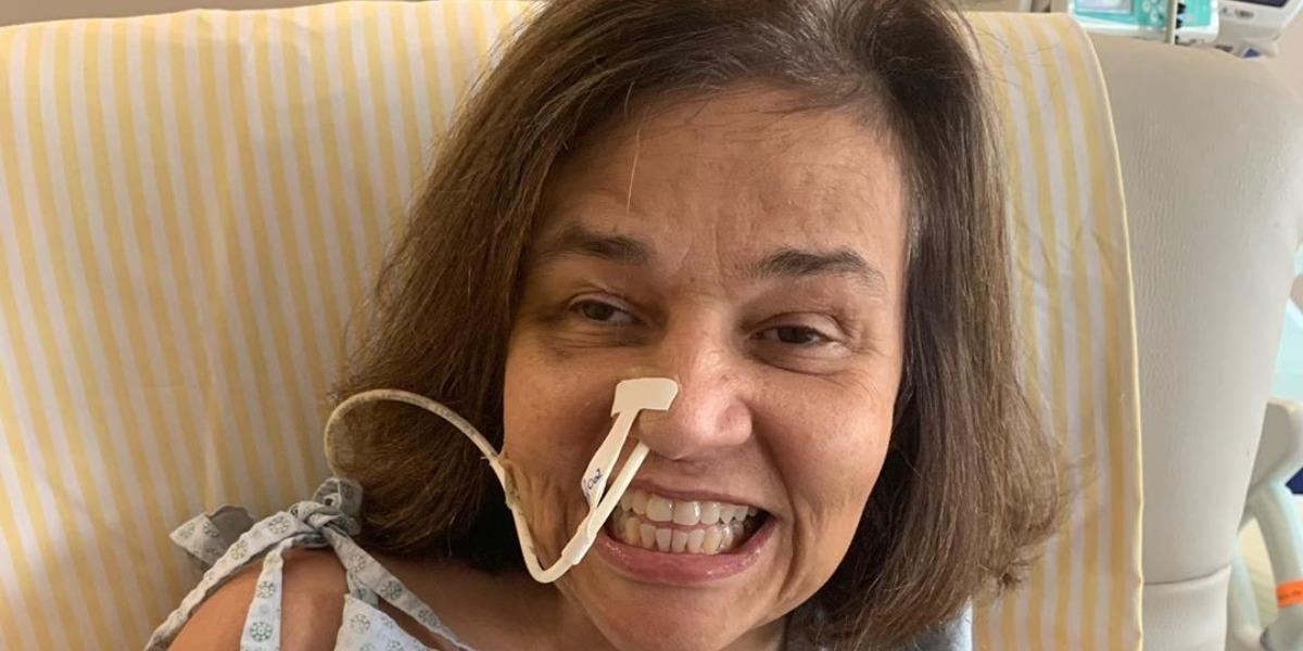 Claudia Rodrigues foi internada às pressas (Foto: Reprodução)