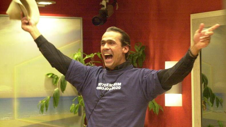 Rodrigo Cowboy foi o grande campeão do BBB2 (Foto: Reprodução/Globo)