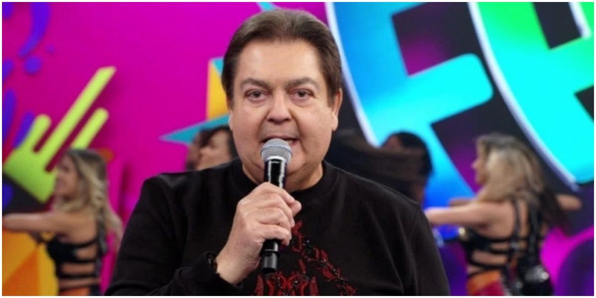 Faustão em seu programa na Globo - Foto: reprodução