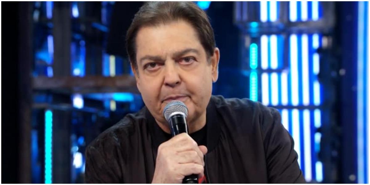 O apresentador Faustão não falou de Nicette Bruno - Foto: Reprodução