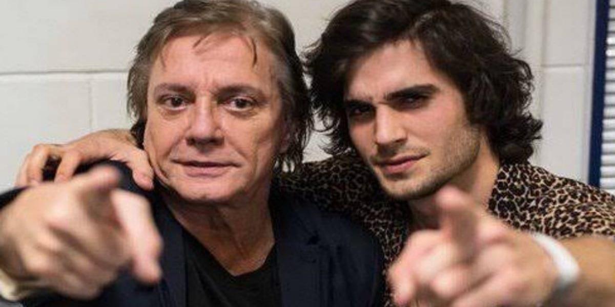 Fiuk e Fábio Júnior (Foto: Reprodução)