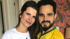 Flávia Camargo e Luciano (Foto: Divulgação)