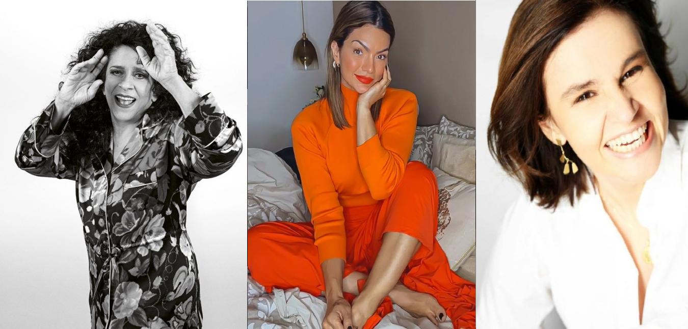 Gal Costa, Kelly Key e Claudia Rodrigues são famosos que se despediram desse ano (Foto: Reprodução) 2020
