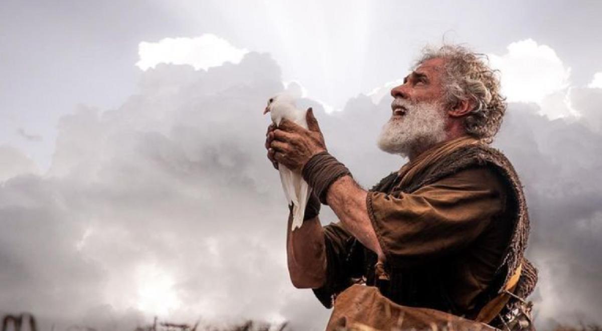 Noé em Gênesis da Record (Foto: Reprodução/ Instagram)