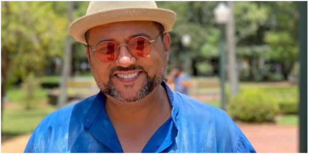 Geraldo Luís fez reflexão para o público (Foto: Reprodução)