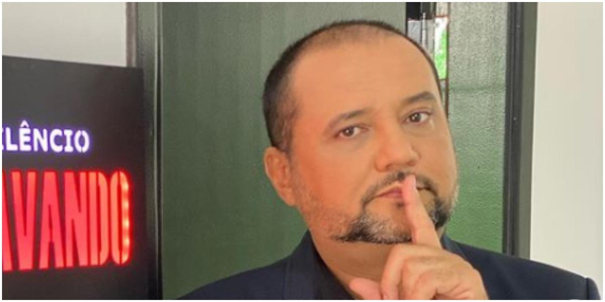 Geraldo Luís usou as redes sociais para mostrar sua participação no Hora do Faro (Foto: Reprodução)