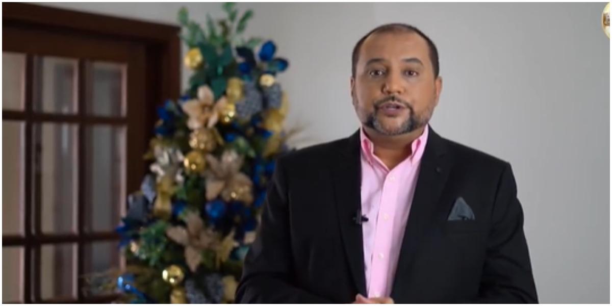 Geraldo Luís expõe tristeza por conta do Natal (Foto: Reprodução)