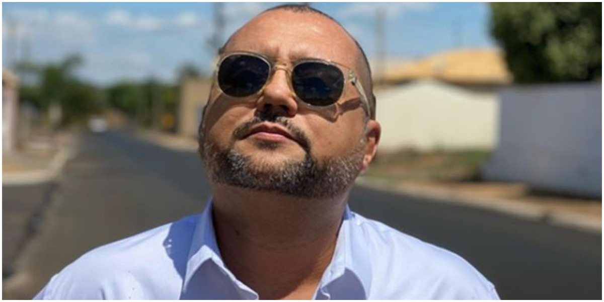 O apresentador Geraldo Luís surpreendeu - Foto: Reprodução