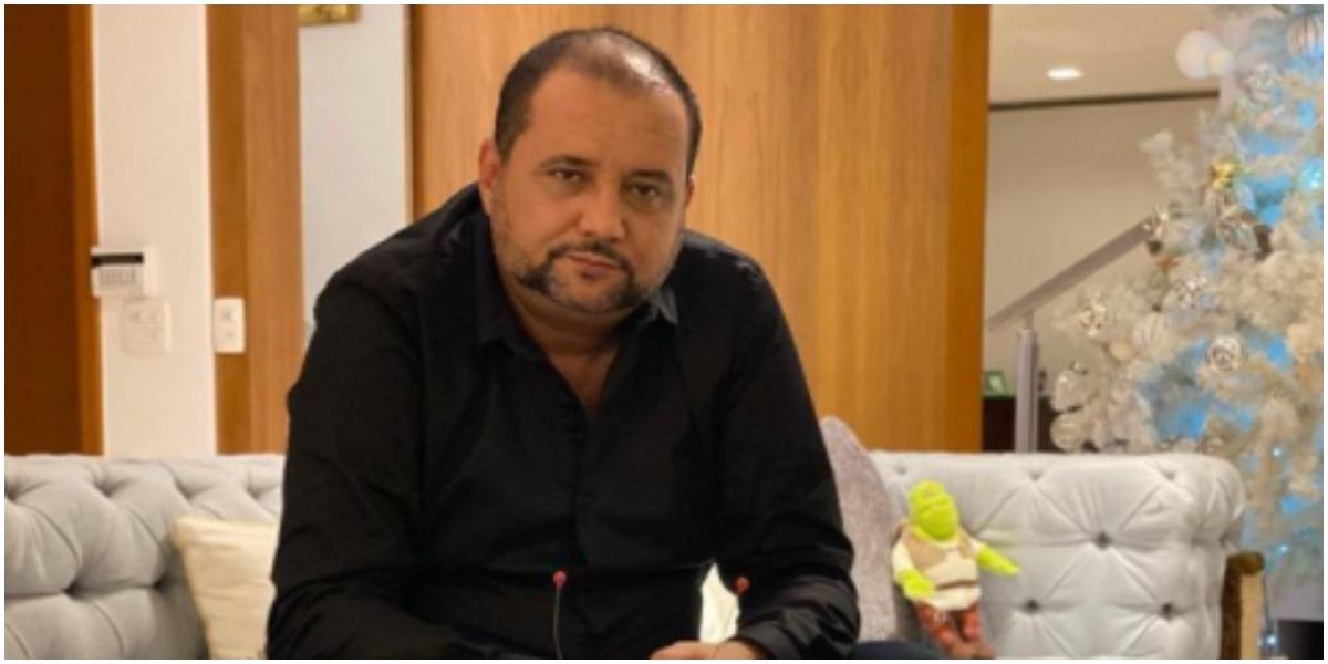 Geraldo Luís expõe tristeza após descobrir morte de grande amiga (Foto: Reprodução)