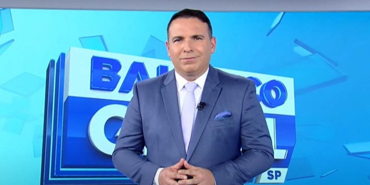 """Reinaldo Gottino no """"Balanço Geral SP"""" (Foto: Reprodução/Record)"""