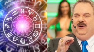 A quinta-feira 003, é marcada pelo aniversário de Gilberto Barros, apresentador do signo de Sagitário (Foto: Reprodução)