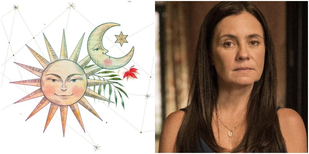 A terça-feira, 15, é marcada pelo aniversário da atriz Adriana Esteves, artista do signo de Sagitário (Foto: Reprodução)