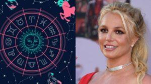 A aniversariante da quarta-feira 02, é a cantora Britney Spears, estrela pop do signo de Sagitário (Foto: Reprodução)