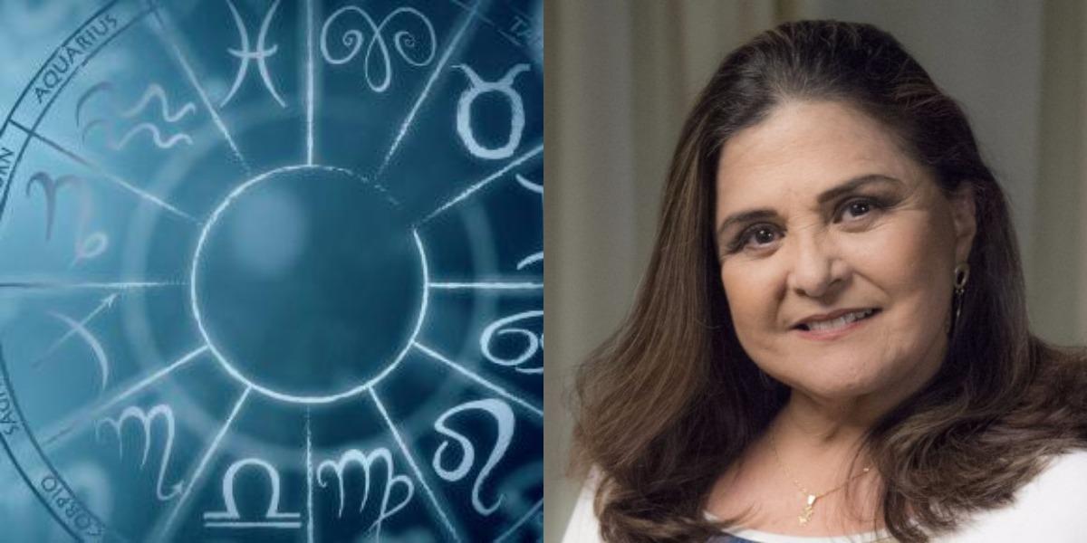 A sexta-feira, 11, é marcada pelo aniversário da atriz Elizângela, artista do signo de Sagitário (Foto: Reprodução)